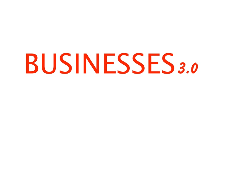 Logo Businesses 3.0 en letras